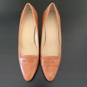 Ralph Lauren Kitten Heel Loafers